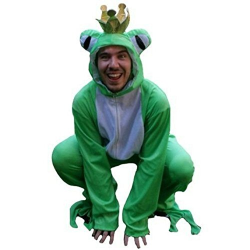 [Fantasy World Adults Frog Prince Costume 16-18 / XL Sy12] (Prince Frog Costumes)