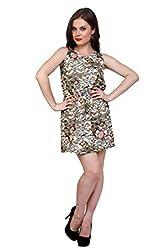 Anasazi Women's Printed Dress (CAD 79_Multi-Coloured_Medium)