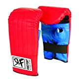 Ceela Sports Ring Fight Punching Gloves Red/Blue Large