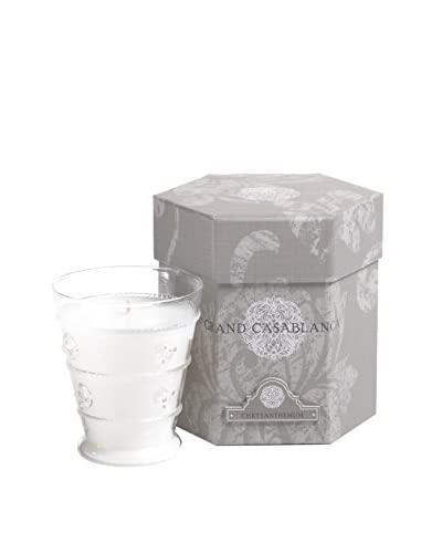 Zodax Grand Casablanca Chrysanthemum Candle Jar