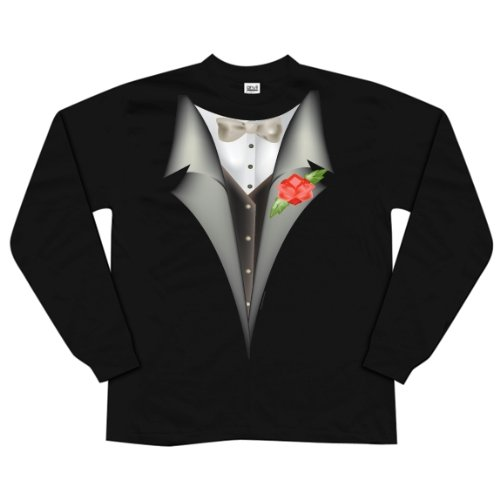 High Class Tuxedo Long Sleeve T-Shirt