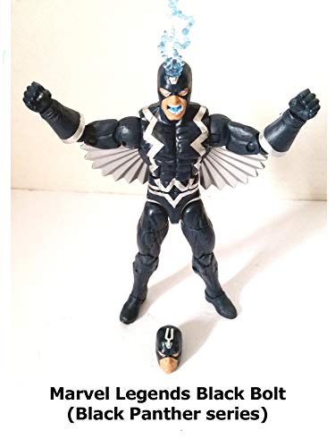Clip: Marvel Legends Black Bolt (Black Panther series) on Amazon Prime Video UK