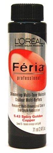 loreal-feria-color-543-24oz-spicy-golden-copper-3-pack