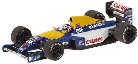 PMA 1/43 Williams Renault FW14 N.Mansell 1991
