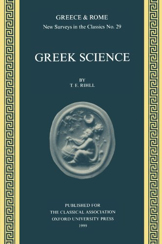 Greek Science (New Surveys in the Classics)