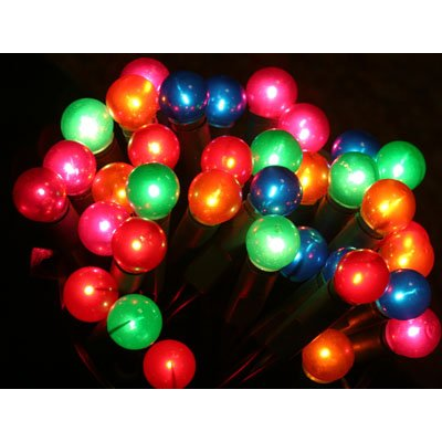PW Multicoloured Berry 100 x Lights Christmas Decoration