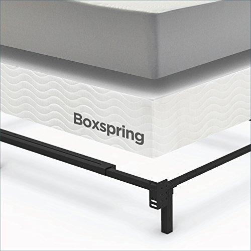 Adjustable Queen Mattress Frame : Zinus compack adjustable steel bed frame for box spring