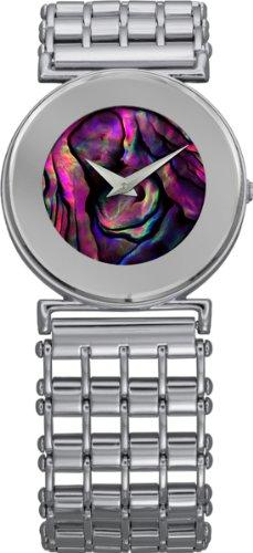 Jowissa Women's J3.003.M Elegance Purple Mother-Of-Pearl Stainless Steel Watch