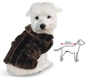 Amazon.com: Faux Fur Winter Dog Coat: Pet Supplies