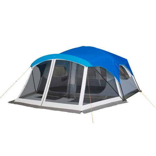 Click to get more images of the Embark 9 Person Cabin Tent With Screen Porch - 14'x15'