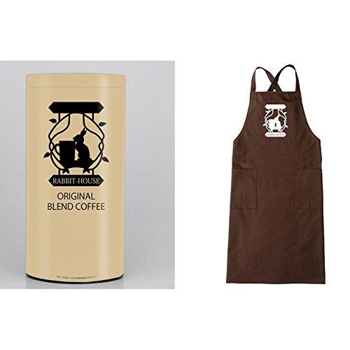 ご注文はうさぎですか?? ラビットハウス オリジナルブレンドコーヒー200g(粉)2nd ver.& オリジナルエプロン数量限定特別セット