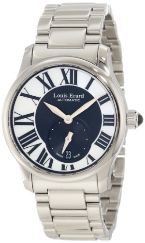 Louis Erard Women's 92602AA02.BMA16 Emotion Automatic Mother-of-Pearl Stainless-steel Date Watch