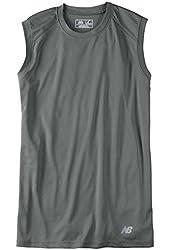 NEW BALANCE Men's Sleeveless ATHLETIC WORKOUT Gym T-Shirt dri-fit S-2X 3XL N7117 7117