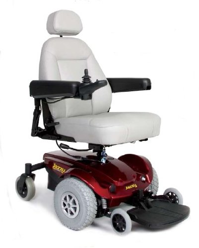 Pride Mobility Jazzy Select Scooter (Red)