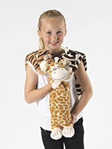 Wild Warmers Microwavable Neck Warmer (Giraffe)