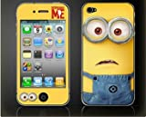 Iphone 4 / 4s Despicable Me Color LCD Film Screen Protector Sticker
