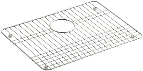 K-3192-ST Sink Rack for Ballad Utility Sink and Select Undertone and Iron/Tones Kitchen Sinks, Stainless Steel (Kohler Iron Tones compare prices)