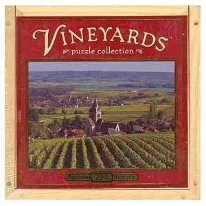 Rhein, Germany Vineyards Puzzle Collection