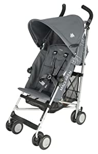 Maclaren Triumph Stroller, Charcoal/Silver