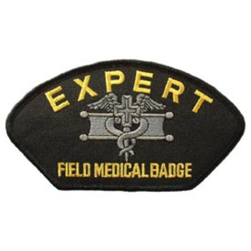 U.S. Army Expert Field Medical Badge Hat Patch 2 3/4