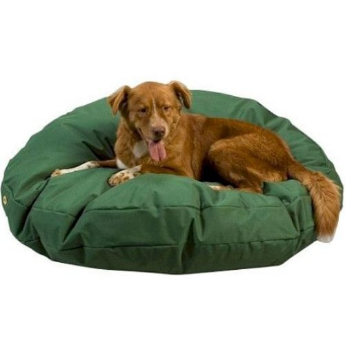 Snoozer Waterproof Rectangle Pet dog bed, Small, Navy, 28 by 45-Inch
