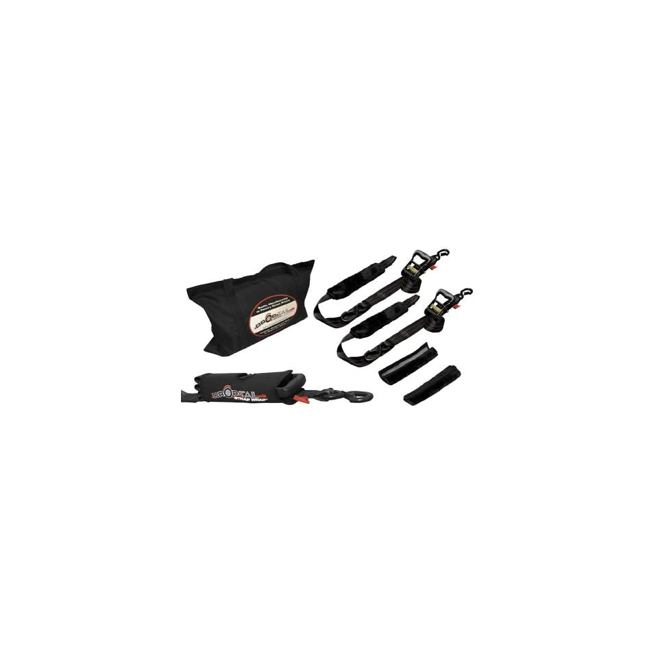 Drop-Tail Trailers Premium Motorcycle Tiedown Kit 03-PMTDK-01 03-PMTDK-BL