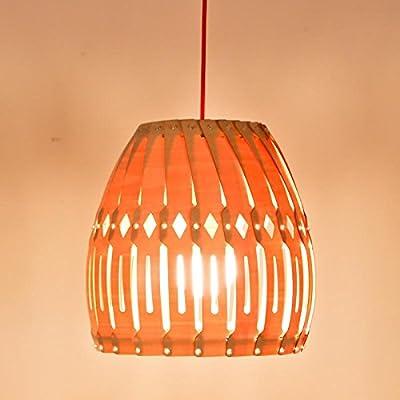 SNEED-Simple European-style Design lighting Creative wood chandelier Wooden craft Pendant Hanging Lamp/ Living Room/Bedroom/Dining/Bar-1 light