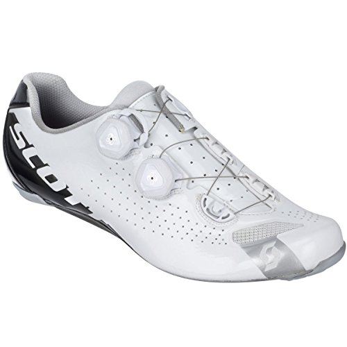 Scott Sports 2016 Men's RC Road Cycling Shoe - 242132-4318 (White/Black Gloss - 43.5) (Scott Road Cycling Shoes compare prices)