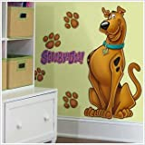 Magnificent Peel & Stick By RoomMates Scooby Doo Giant Wall Decal