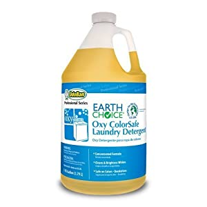 Earth Choice 968362-G4 Oxy Colorsafe Laundry Detergent, 1 Gallon Bottle