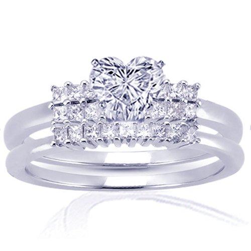 1.25 Ct Heart Shaped Diamond Wedding Engagement