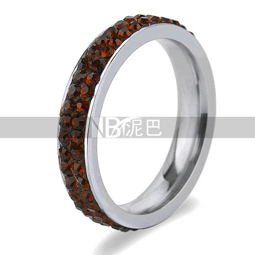 Glucky Top Quality Fashion Jewellerypecial Crystal Finger Ring Very Nice Gift 8.0
