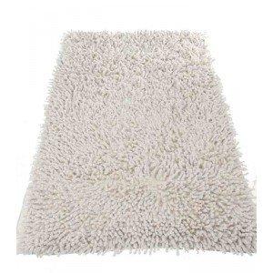 Badteppich Chenille 50 x 80 cm, weiß