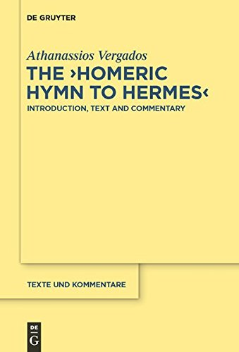 A Commentary on the Homeric Hymn to Hermes (Texte Und Kommentare) (Texte Und Kommentare: Eine Altertumswissenschaftliche