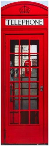Homelife24 sgabello a forma di cabina telefonica inglese for Cabina telefonica inglese arredamento