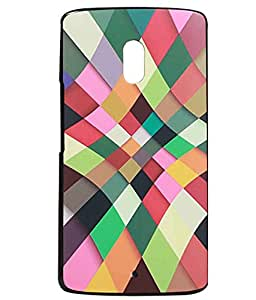 Mulitcolour Rubberised Back Case Cover For Motorola Moto X Play