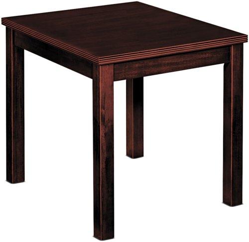 Cheap Basyx BW3140N End Table, Rectangular, 20w x 24d x 20h, Mahogany (BW3140N)