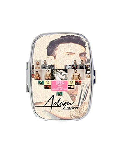 Adam-Levine-custom-useful-pill-Box-Medicine-Tablet-Holder-square-Home-Decor-Metal-Box