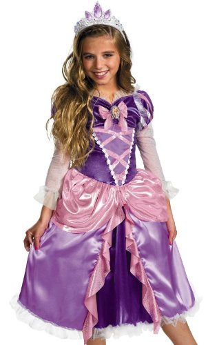 "Princess ""Tangled"" Rapunzel Shimmer Deluxe Costume - Extra Small (3T-4T)"