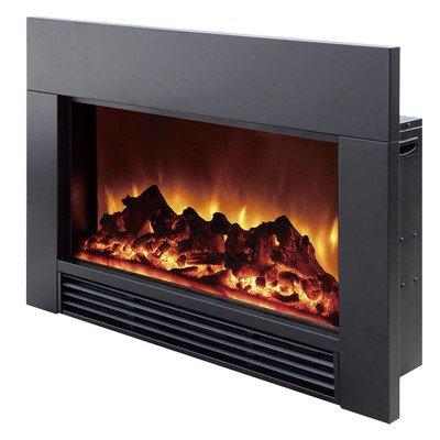 "30"" Electric Fireplace Insert Size: 26"" H X 37.75"" W X 8.75"" D"