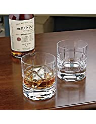 Wine Enthusiast SoHo Bar Glasses, Set of 2 by The Wine Enthusiast