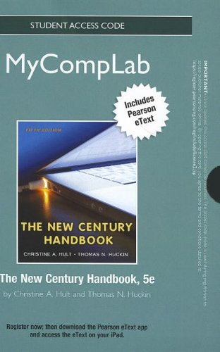 New Mycomplab with Pearson Etext -- Standalone Access Card -- For the New Century Handbook (MyCompLab (Access Codes))