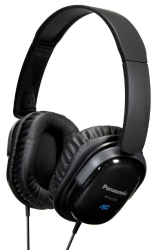 Panasonic Rphc200 Noise Cancelling Headphones Black