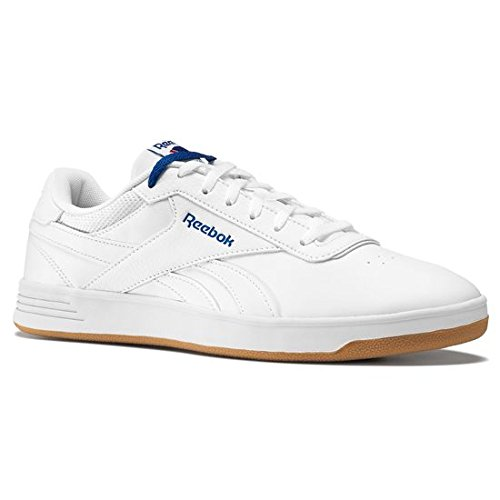 Reebok Royal Slam, Scarpe da tennis uomo Multicolore Blanco / Azul (White/Team Dark Royal/Gum) 43
