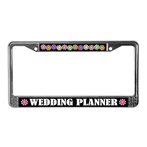 CafePress Wedding Planner License Plate Frame License Frame - Standard