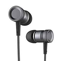 ROCK Mula Stereo In-The-Ear Headset Earphones Headset with High Performance Mic and Low Distortion for iPhone6/iPhone6 Plus Samsung Android Tarnish