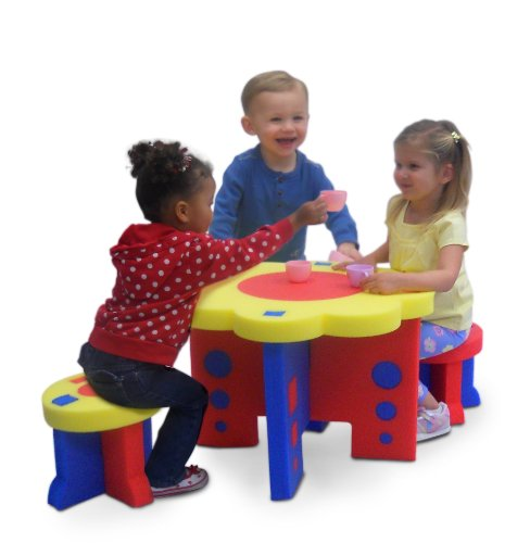 Kids Adventure Sunflower Table and Chair Furniture Set