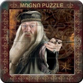 Harry Potter and the Half Bloody Principe Hermione Granger Magna Puzzle-Gioco in scatola in latta da collezione