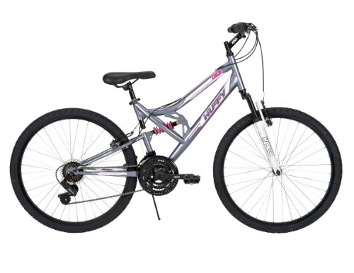 Huffy Women's DS-3 Mountain Bike, Charcoal, 26-Inch/Medium