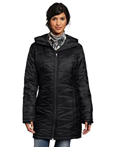 Columbia Women's Mighty Lite Hooded Jacket, Black, Medium